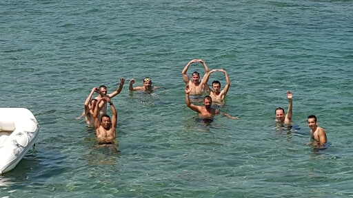 practice in the sea