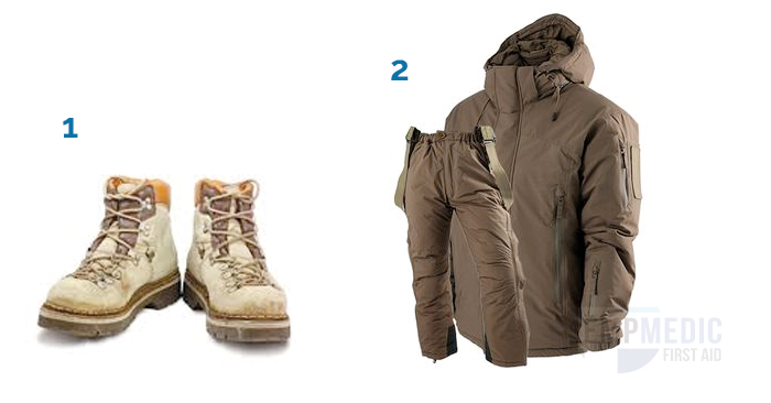 clothing for survival